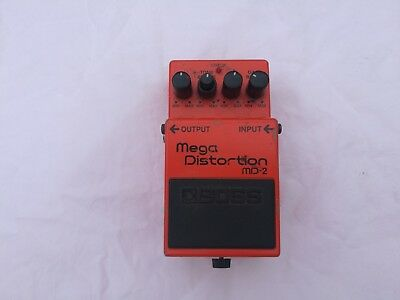 Boss Md-2 Mega Distortion - Free Next Day Delivery In The Uk