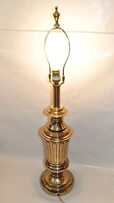 Vintage Rembrandt Table Lamp 3 Way Lighting Brass Fantastic Condition