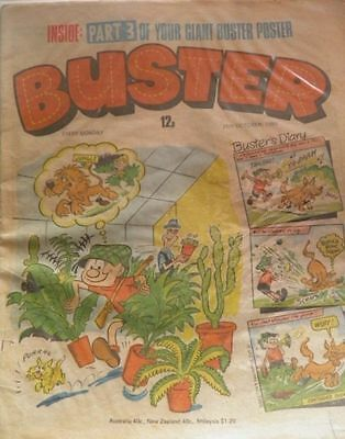 BUSTER comic (25 October 1980) UK cartoon strips Beano Dandy IPC Whoopee Jackpot