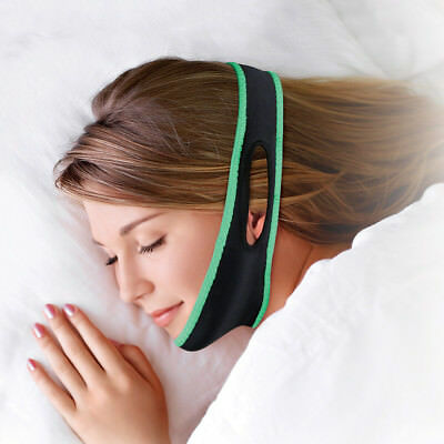 NEW Adjustable Anti Snore Strap - Washable Reusable Comfortable Nylon/Spandex