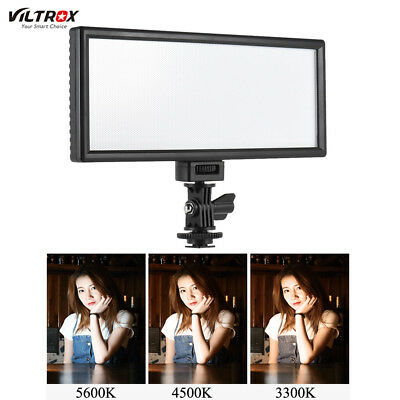 Viltrox L132T 3300K-5600K Photography LED Video Fill Light Lamp for DSLR Camera