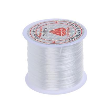 Stretchy Elastic Crystal String Cord Thread for Jewelry Making white MT