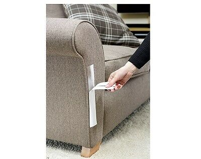 Sticky Paws Scratch Deterrent To Stop Cats Scratching Your Furniture - 12 Strips
