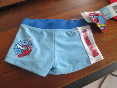 Maillot De Bain Spiderman Neuf Marvel