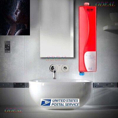 Beau Portable Electric Tankless Water Heater Instant Hot Shower For Outdoor  Bathroom