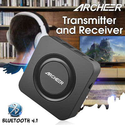 ARCHEER Bluetooth Wireless Hifi Audio Transmitter Receiver 3.5mm AUX RCA Adapter