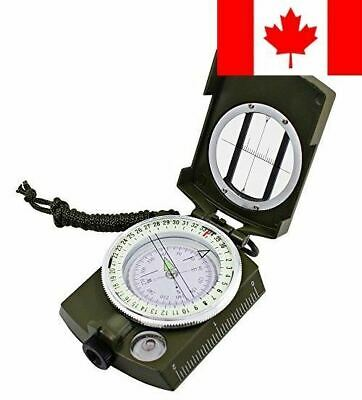 Multifunctional Waterproof Compass, DLAND Military Metal Army Sighting Compas...