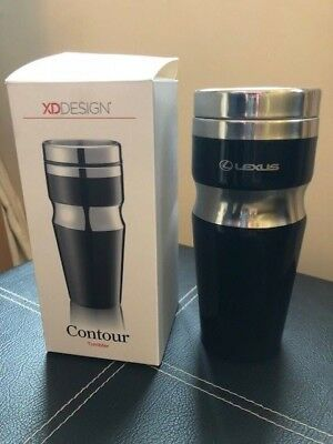 Lexus Black Stainless Travel Mug