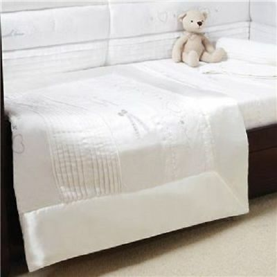Silver Cross Nursery Baby Cot Bed Quilt Hand Made With Love Brand New
