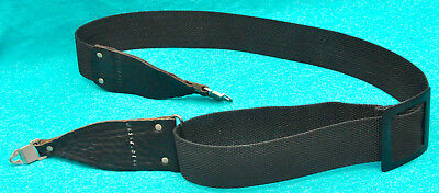 """HASSELBLAD 2"""" Wide Leather-Nylon Shoulder Neck Strap Hasselblad 500,200,2000"""