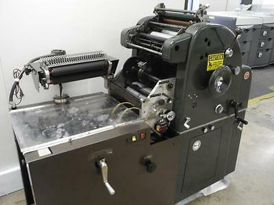 Mona Numering Attachment, Abdick, #, Perf, Print At 1 Time! Check Printing Press