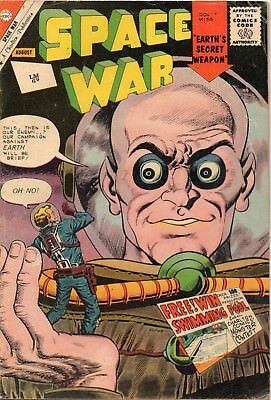 Space War Vol 1  # 12 / V.good / Charlton 1961 / Price Variant.