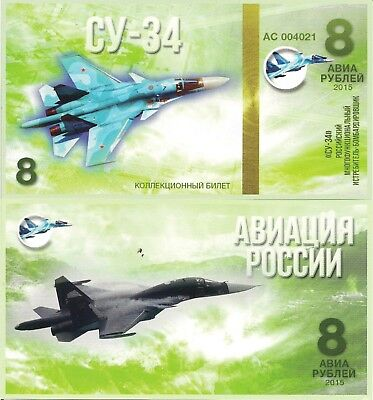Russia-8 Su-34 Fighter-bomber, strike fighter 2014 (Fullback)