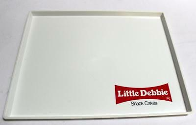 """Vintage """"LITTLE DEBBIE SNACK CAKES"""" 12 x 10 Collectible Snack Tray Made USA EUC"""