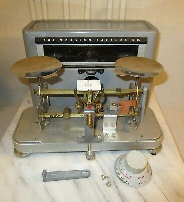 Vintage TORSION BALANCE Pharmacy Scale DRX2 - 120g