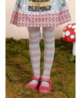 NWT Matilda Jane Girls 8-10 Striped Treacle Tights Once Upon a Time