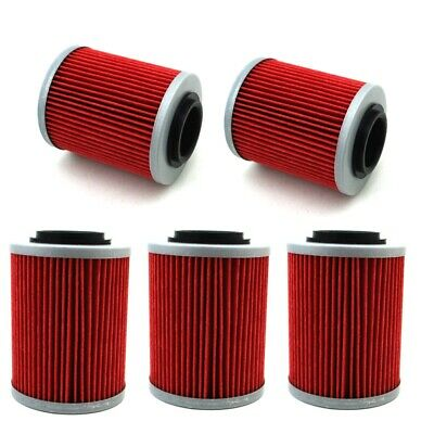 5x Oil Filter For CAN-AM OUTLANDER L MAX 570 450 650 1000 850 500 800R