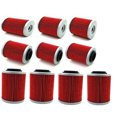 10x Oil Filter For CAN-AM OUTLANDER MAX 570 RENEGADE 850 RENEGADE 1000 500