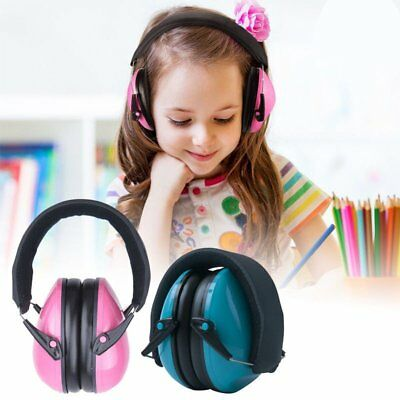Baby Kids Hearing Protection Ear Muffs Cover Noise Cancelling Earmuffs Sleep CU