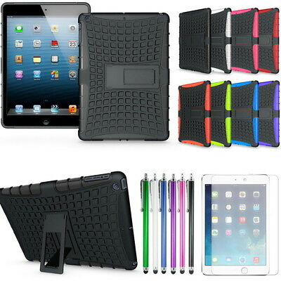 Kids Heavy Duty Shockproof Rubber Stand Case Cover For Apple iPad 6 2018 9.7""
