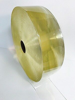 STRIP- PVC STRIP CURTAIN DOOR  ROLL Clear 50m x 100mm x 2mm  General Entry style