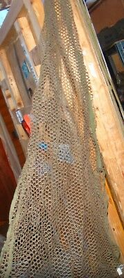 snipers head veil new unused condition wide mesh covers shoulders front and bac