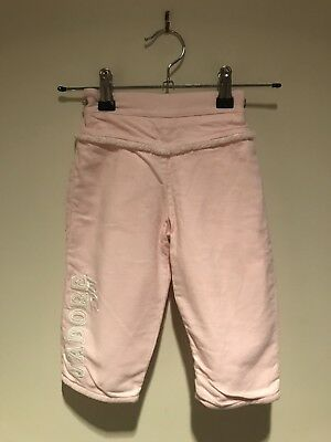 Baby Dior Pink Tracksuit Pants Guc 18M