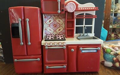 OUR GENERATION Red Gourmet Kitchen Set for 18\