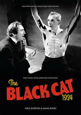 The Black Cat 1934 Bela Lugosi Boris Karloff horror movie magazine