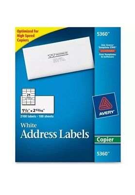 Avery Mailing Labels for Copiers 5360