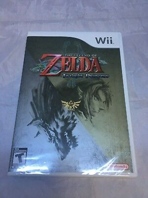 The Legend of Zelda Twilight Princess Nintendo Wii 2006 Brand New First Print