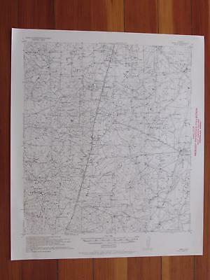 Webb Texas 1956 Original Vintage USGS Topo Map