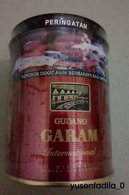 2x (@50) Gudang Garam Int. TIN Edition Collectible SEALED ***Faster Delivery***