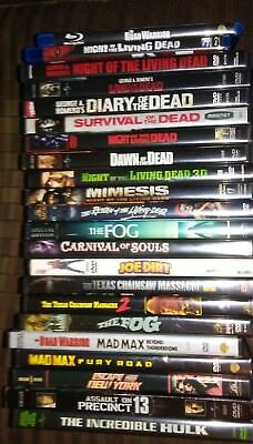 Night of the living dead Texas chainsaw Return of the living dead + lot of 22