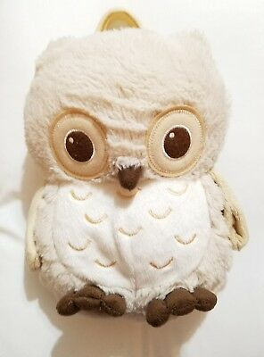 Cloud B Sunshine Plush Owl with four Soothing Sounds Nursery Crib Baby Toy lovey