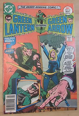 Green Lantern #94 (Apr-May 1977) VF/NM 9.0 Mike Grell. Bondage cover. Free Ship!