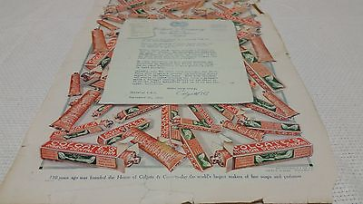 1915s Colgate Dental Cream Ad  11x16 from Todays Magazine