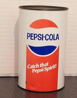 Pepsi Cola Can Coin Bank by JL Clark Mfg Co.