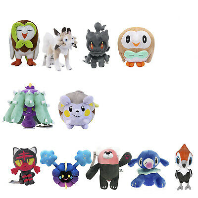 7''-12'' Pokemon Center Pokemon Sun And Moon Alolan Stuffed Soft Plush Doll Toy