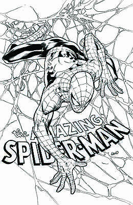 Amazing Spider-Man #798 Texas Charity Greg Land Sketch Virgin Variant Red Goblin