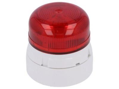 45-713211 Signaller lighting flashing light Colour red 12/24VDC IP65 QBS-0038