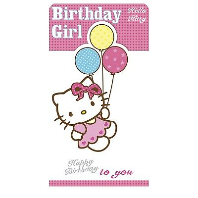 Hello Kitty Birthday Card Open Age 3rd 4th 5th 6th 7th 8th
