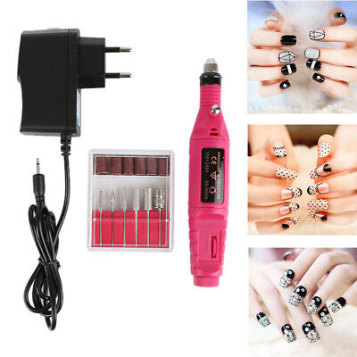 2018 Professional Electric Nail Drill File Manicure Care Tool Polisher Machine