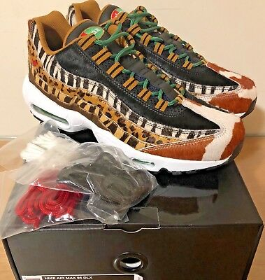 c2d6d19320 NIKE AIR MAX 95 DLX Animal Pack 2.0 Safari Atmos Size US Mens 4-13 ...