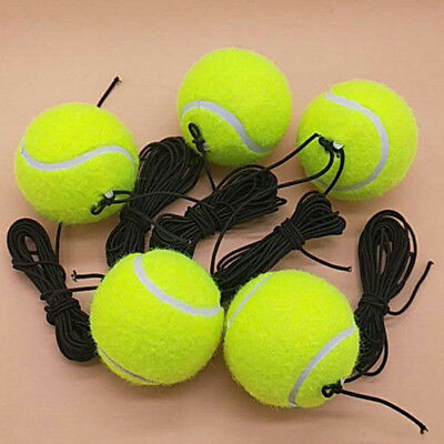 1/5X Tennis Training Exercise Tennis Self-study Rebound Ball Trainer With String