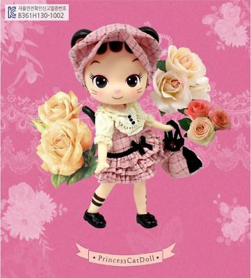 Lovely Doll Celli cat pink check_NO PACKAGE/BOX_polybag packing_Free shipping