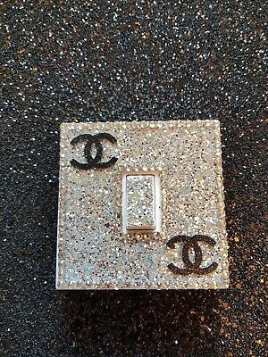 glitter light switch covers. Bling. Not vinyl!!!