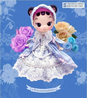 Lovely Doll_Celli cat Princess Blue Dress_LAST Stock_Free shipping