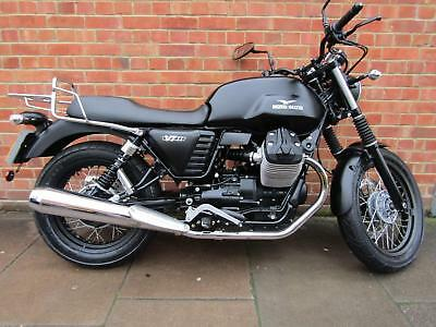 Moto Guzzi V7 Ii Stone Only 3206 Miles One Owner With History