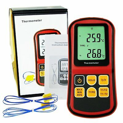 K/J/T/E/R/S/N Thermoelement Thermometer ATC Temperatur Meter Prüfer -150~1767°C